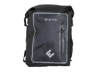 ETC Arid Waterproof Roll top Backpack 25L Black