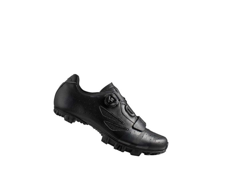 LAKE MX176 MTB Shoe Black/Grey click to zoom image