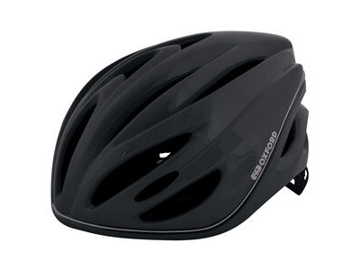 Oxford Metro-Glo Helmet Black