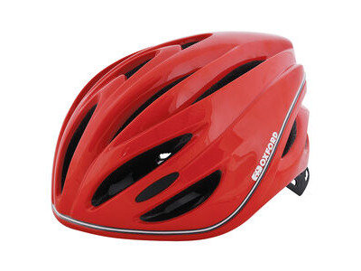 Oxford Metro-Glo Helmet Red