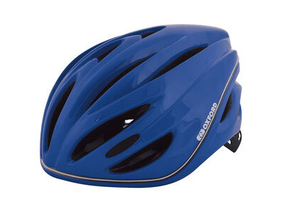 Oxford Metro-Glo Helmet Blue