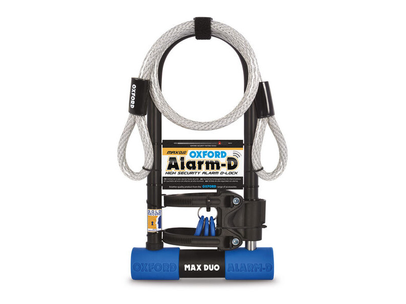 Oxford Alarm-D Max Duo 320mm x 173mm click to zoom image