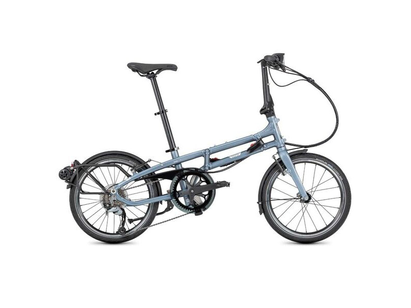 "Tern BYB P8 Folding Bike 20"" Matte Blue click to zoom image"