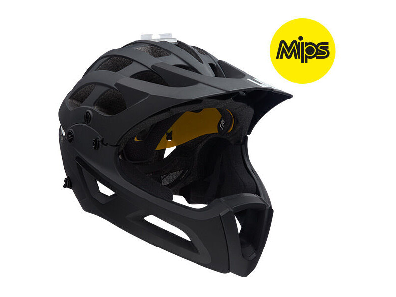 Lazer Revolution FF with MIPS matt black click to zoom image
