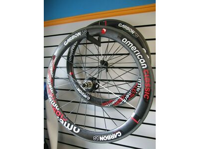 American Classic Carbon 58 Tubular Wheelset