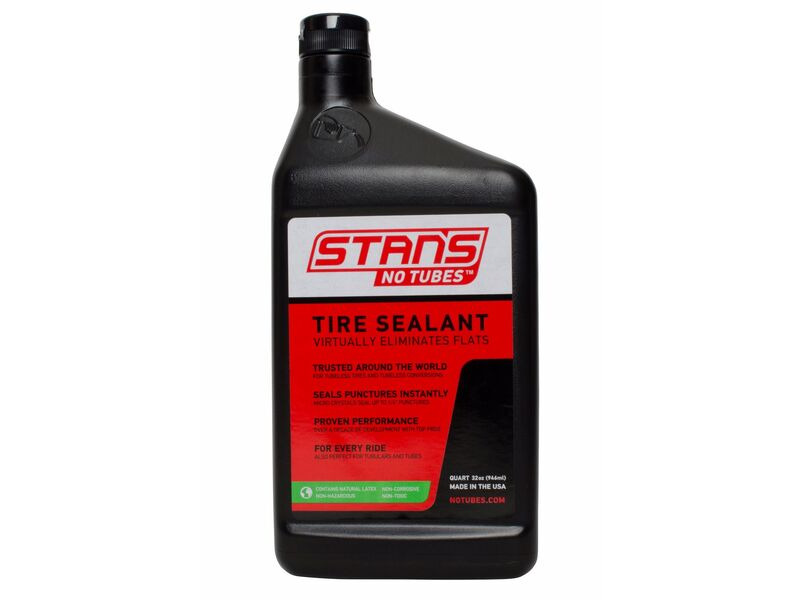 Stan's NoTubes The Solution Tyre Sealant Quart click to zoom image
