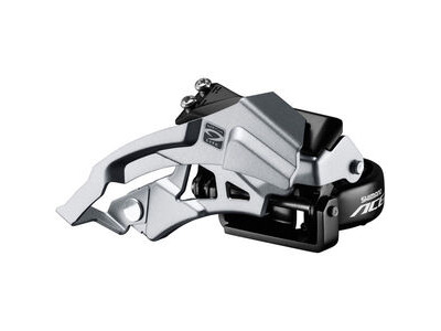 Shimano Acera M3000 triple front derailleur top swing, dual-pull, 9speed 66-69
